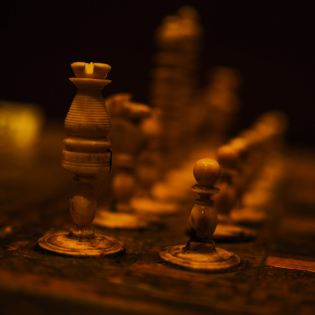 """Arabic Chess Pieces"" stock image"
