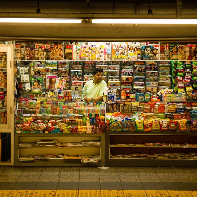 """""""NY City Subway"""" stock image"""