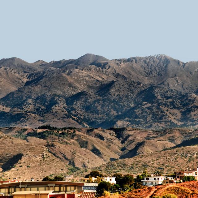 """""""Crete - Mountains"""" stock image"""