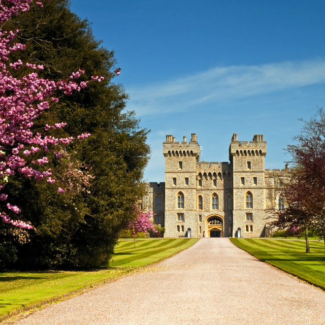 """UK - Windsor Castle"" stock image"