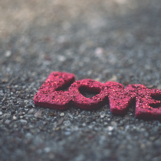 """""""Grounded by Love"""" stock image"""