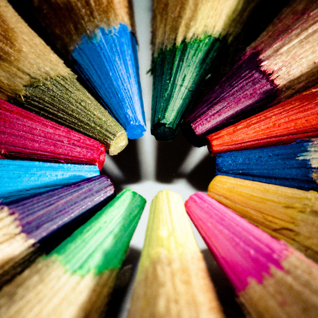 """""""Colors All In"""" stock image"""