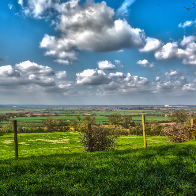 """Lincolnshire Countryside"" stock image"