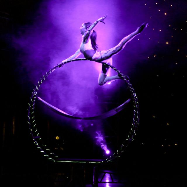 """""""Acrobat Show"""" stock image"""