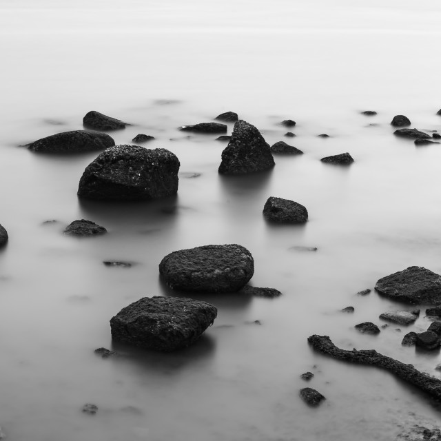 """Floating Stones"" stock image"