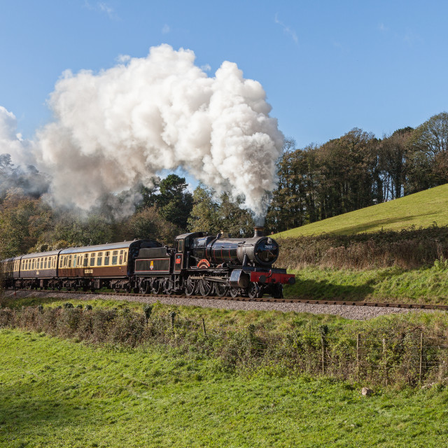 """GWR 7827 Lydham Manor"" stock image"