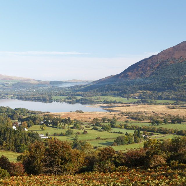 """Lake Bassenthwaite"" stock image"
