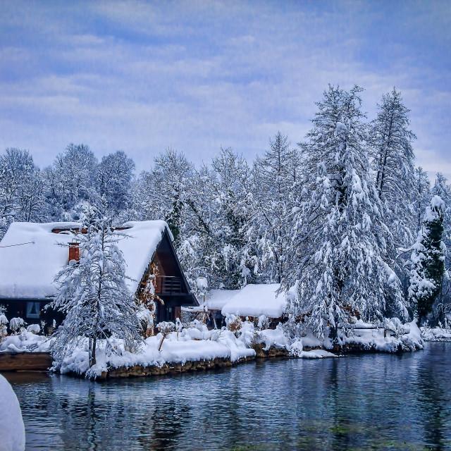 """winter atmosphere"" stock image"