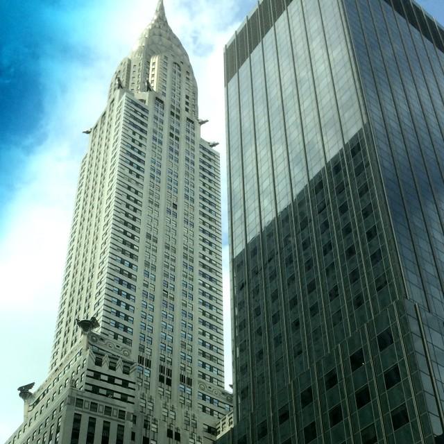 """""""Chrysler Building New York"""" stock image"""