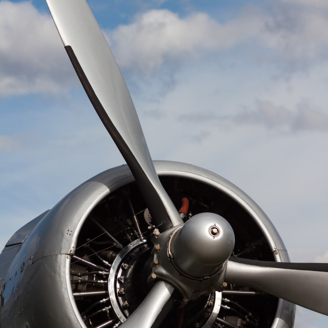 """Aircraft propeller"" stock image"
