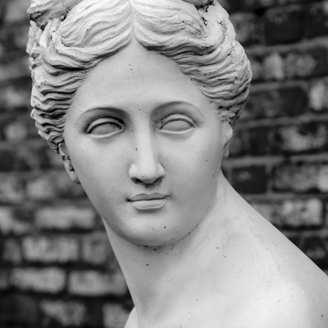 """Statue of Goddess Diana"" stock image"