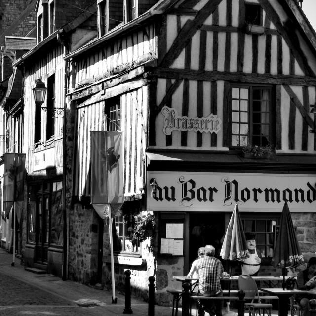 """French Bar"" stock image"