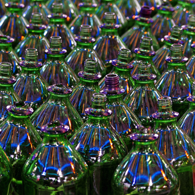 """""""Bottles"""" stock image"""