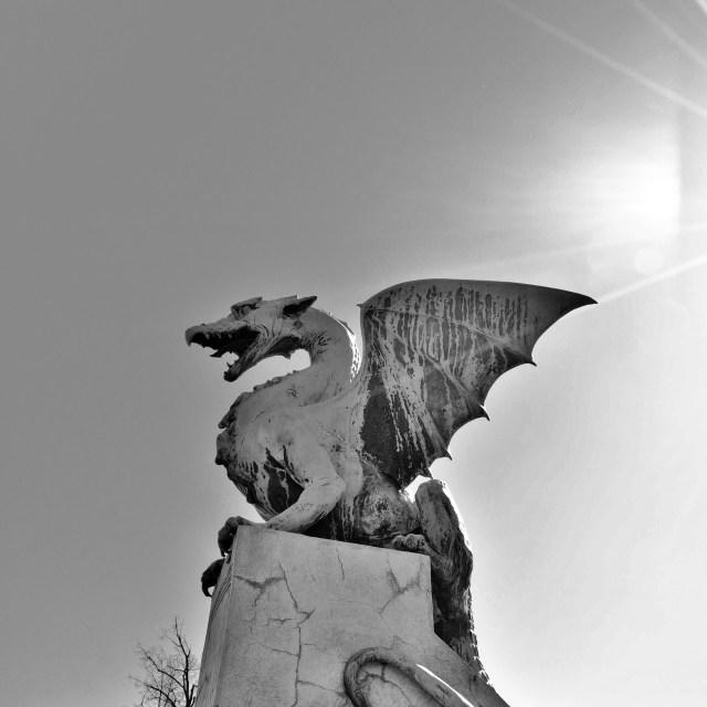 """Dragon"" stock image"