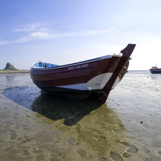 """""""Holy Island"""" stock image"""