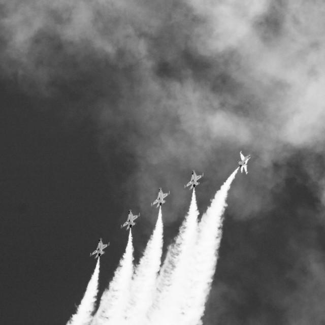 """Thunderbirds 2"" stock image"