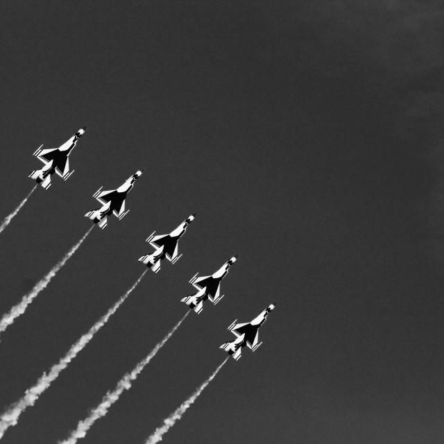 """Thunderbirds"" stock image"