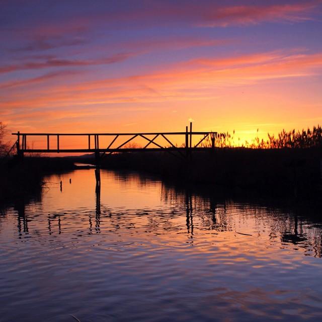 """Utah sunset"" stock image"