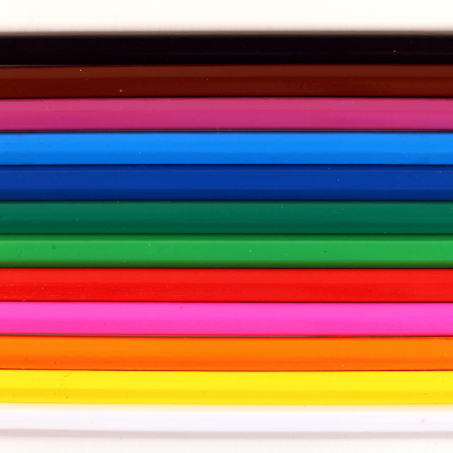 """coloured pencils"" stock image"