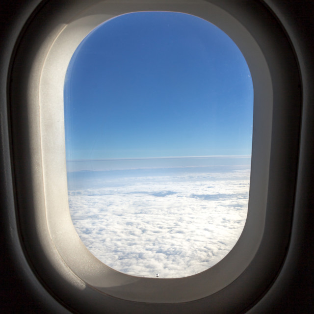 """Window seat"" stock image"