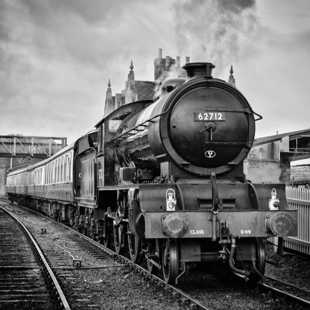 """BR No. 62712 Morayshire"" stock image"