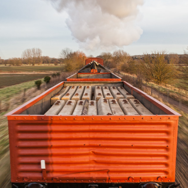 """Freight Train"" stock image"