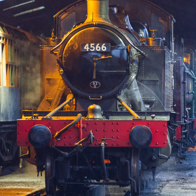 """GWR No.4566"" stock image"