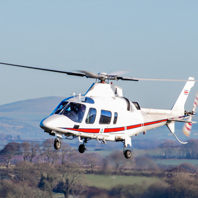 """Agusta 109 - Helicopter"" stock image"