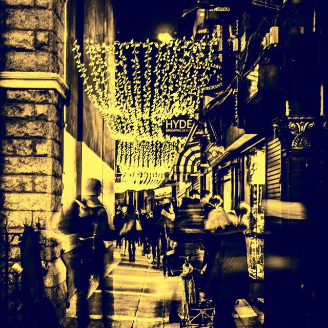 """Grafton Street, Dublin"" stock image"