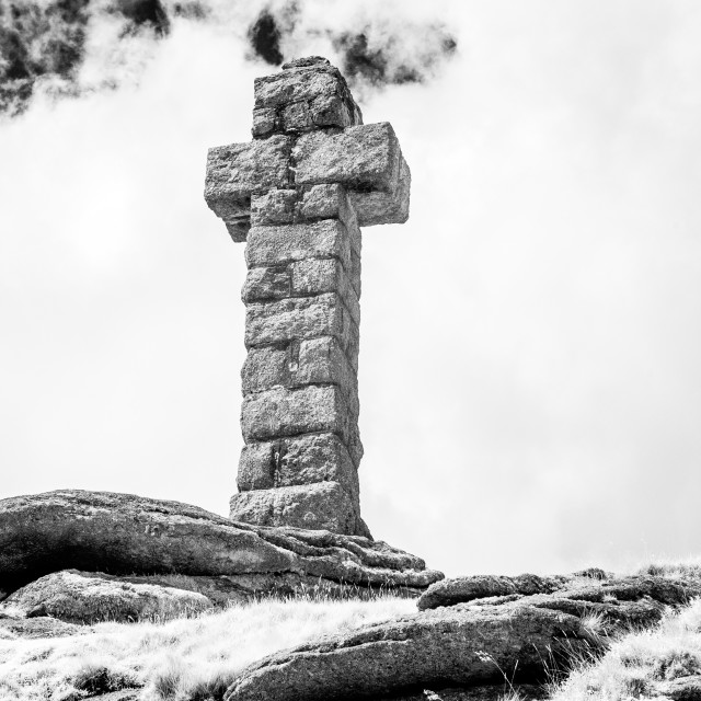 """Widgery's Cross"" stock image"