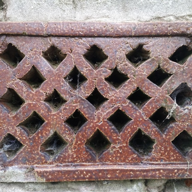 """""""Wall Grate"""" stock image"""