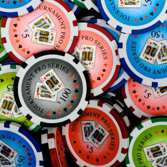 """""""Poker chips"""" stock image"""