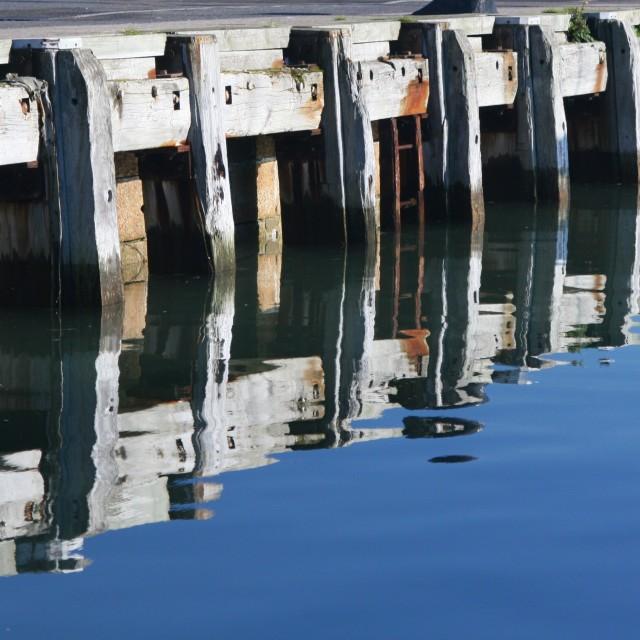 """Poole Quay"" stock image"