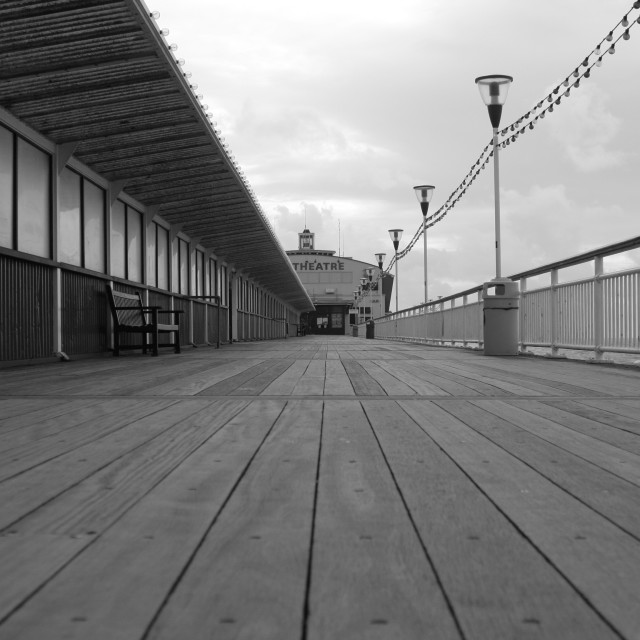 """Bournemouth Pier"" stock image"
