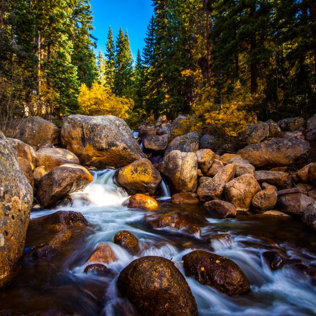 """Geneva Creek"" stock image"