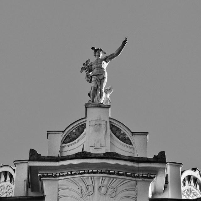 """Baroque Statue"" stock image"