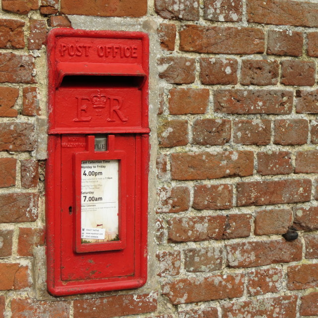 """Letter Box"" stock image"