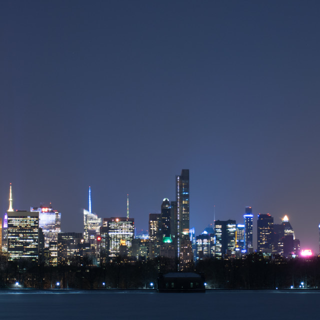 """Downtown Manhattan"" stock image"