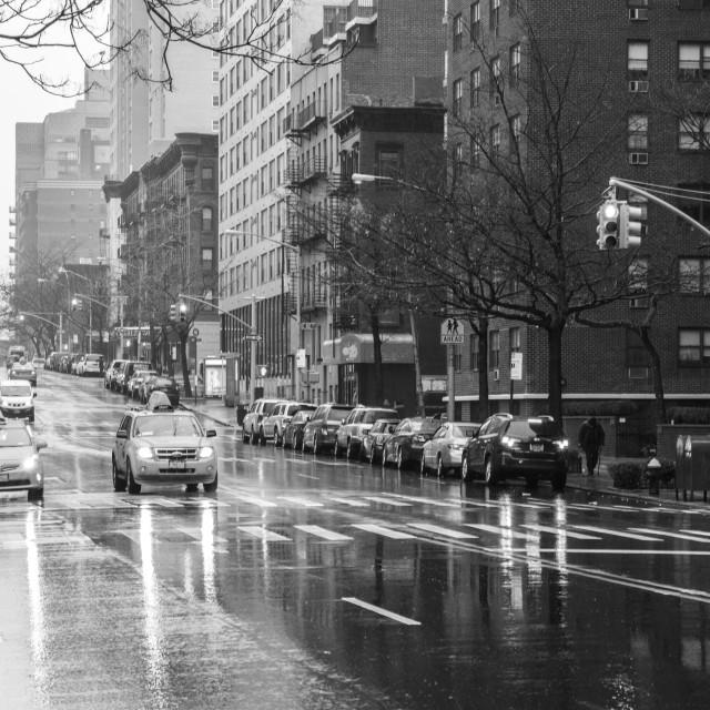 """New York City Street"" stock image"