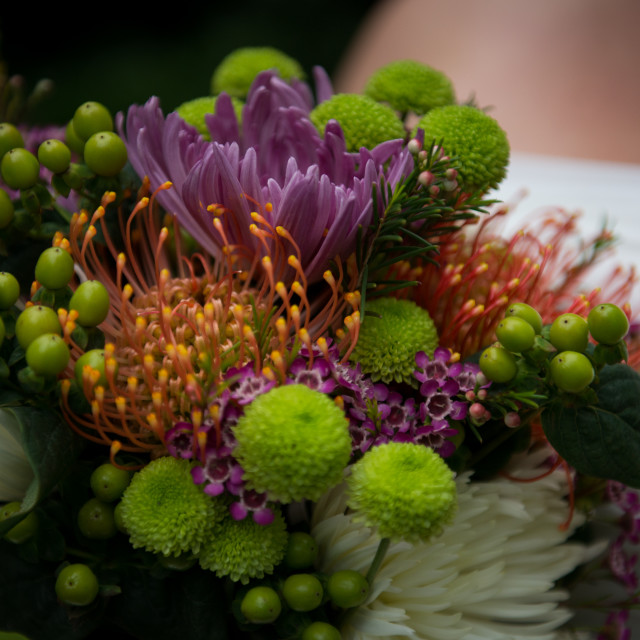 """""""Close up of bridal bouquet"""" stock image"""