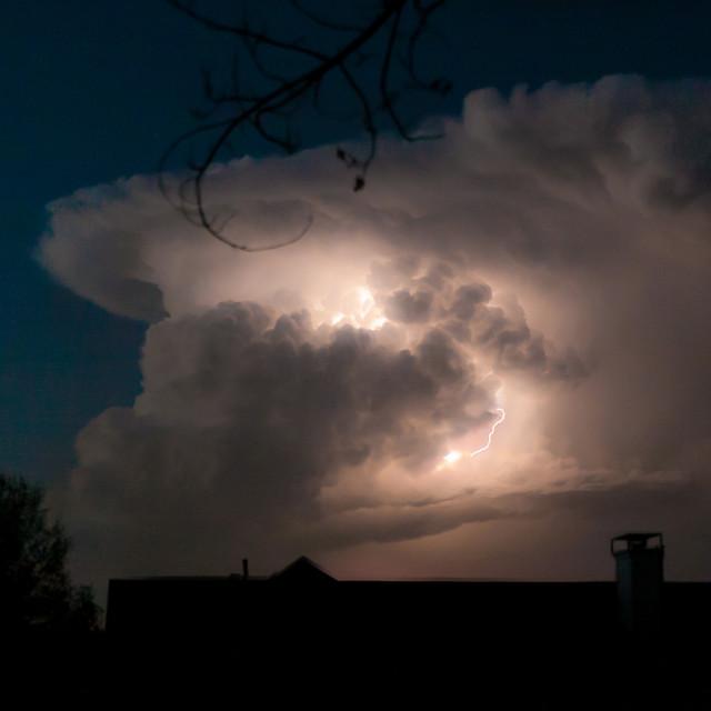 """""""Storm en color"""" stock image"""