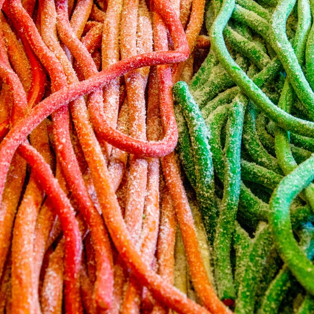 """Candy Straws"" stock image"