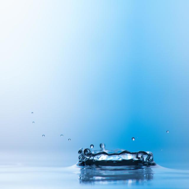 """Blue Splash"" stock image"