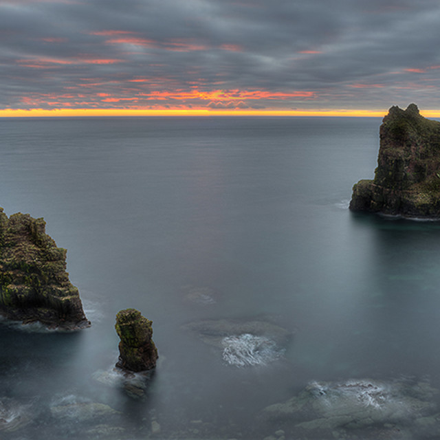 """Duncansby Head Sea Stacks"" stock image"