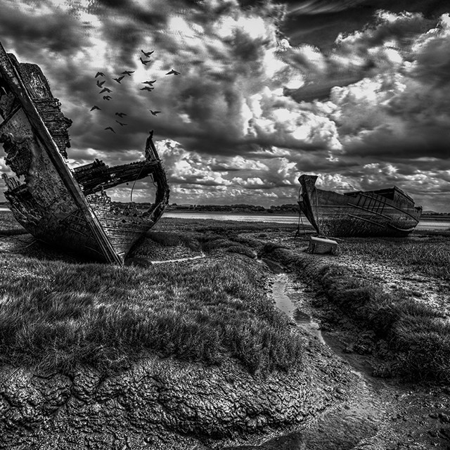 """Fleetwood Shipwrecks 2"" stock image"