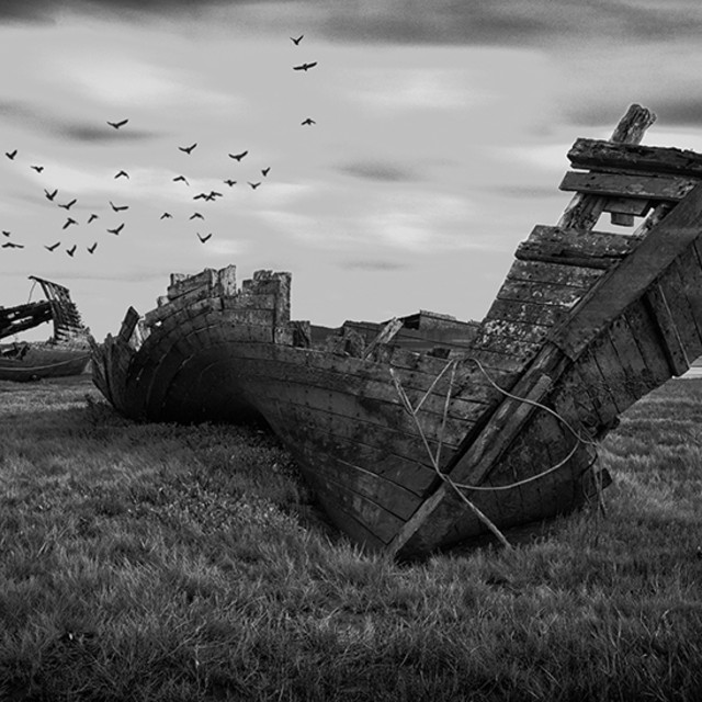 """Fleetwood Shipwrecks"" stock image"