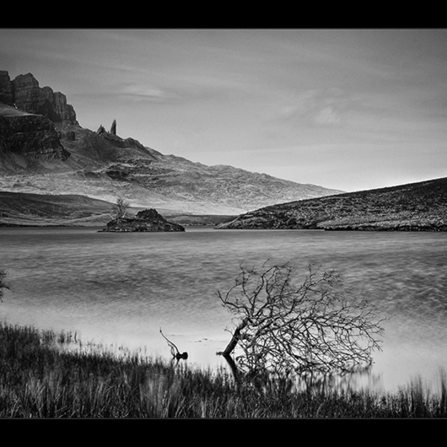 """Loch Fada 2"" stock image"