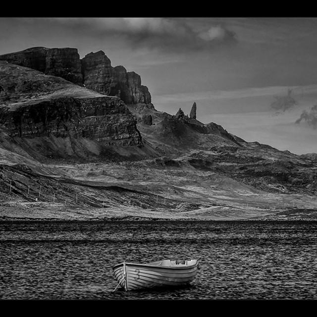 """Loch Fada 1"" stock image"
