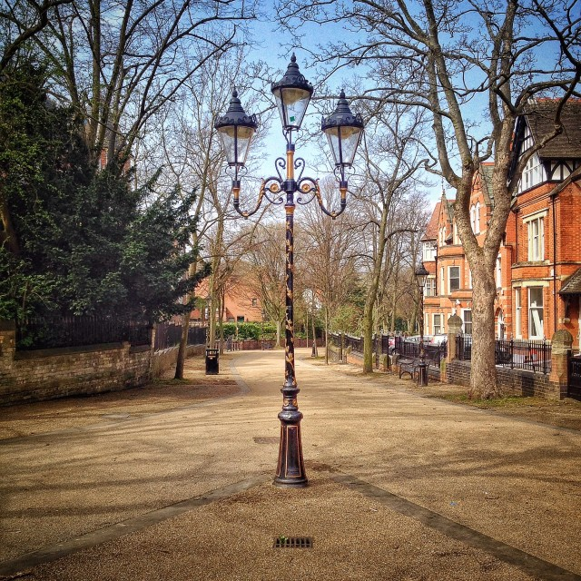 """Lamppost"" stock image"