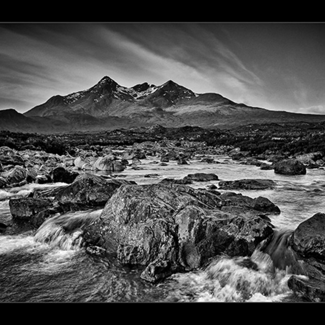"""THE CUILLINS 2"" stock image"